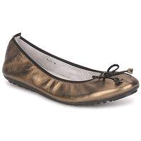 Sko Dame Ballerinaer Mac Douglas ELIANE Bronze / Sort / Lakeret