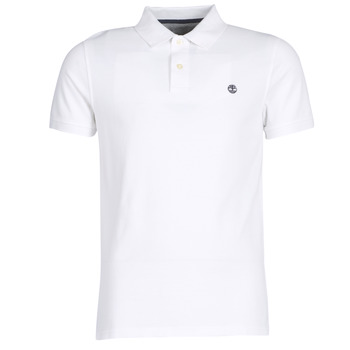 textil Herre Polo-t-shirts m. korte ærmer Timberland SS POLO Hvid
