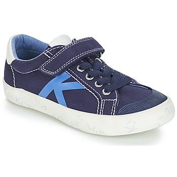Sko Dreng Lave sneakers Kickers GODY Marineblå