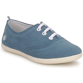 Sko Børn Lave sneakers Petit Bateau KENJI GIRL Blå