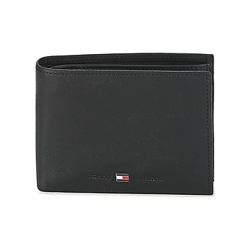 Tasker Herre Tegnebøger Tommy Hilfiger JOHNSON CC AND COIN POCKET Sort