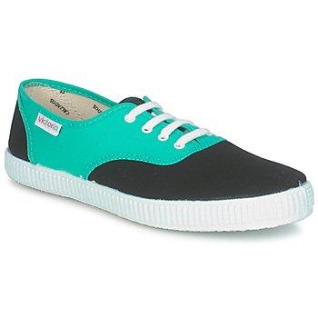 Sko Lave sneakers Victoria 6651 Cyan / Sort