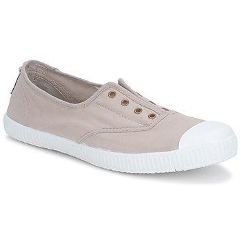 Sko Dame Lave sneakers Victoria 6623 Beige