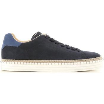 Sko Herre Lave sneakers Hogan HXM2600AD506RN669E blu