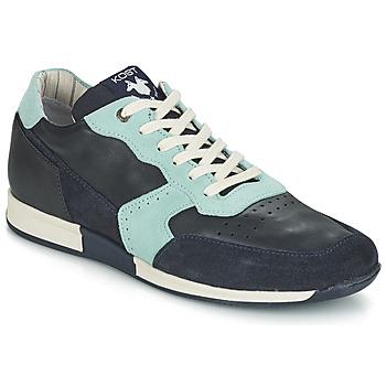 Sko Herre Lave sneakers Kost HOOPAR Blå