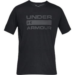textil Herre T-shirts m. korte ærmer Under Armour Team Issue Wordmark SS Tee 1329582-001 noir