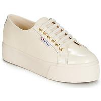 Sko Dame Lave sneakers Superga 2790 LEAPATENT Beige