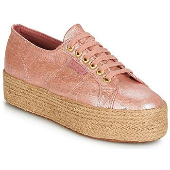 Sko Dame Lave sneakers Superga 2790 LINRBRROPE Pink