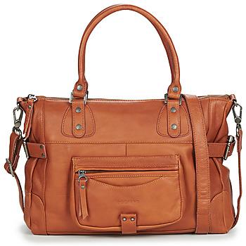 Tasker Dame Håndtasker m. kort hank Sabrina CAMILLE Brun