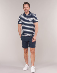 textil Herre Shorts Selected SLHSTRAIGHTPARIS Marineblå