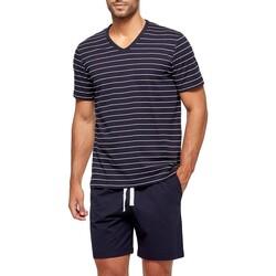 textil Herre Pyjamas / Natskjorte Impetus GO63024 039 Blå