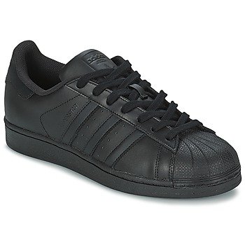 Sko Lave sneakers adidas Originals SUPERSTAR FOUNDATION Sort