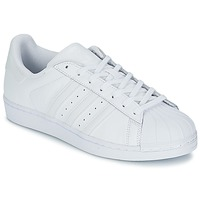 Sko Lave sneakers adidas Originals SUPERSTAR FOUNDATION Hvid