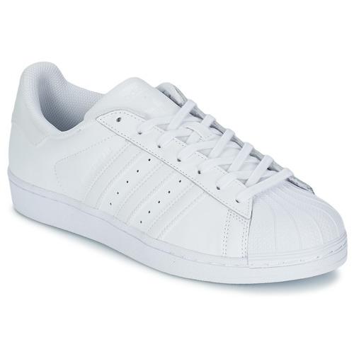 adidas Originals Sko Superstar W HvidPetroleum
