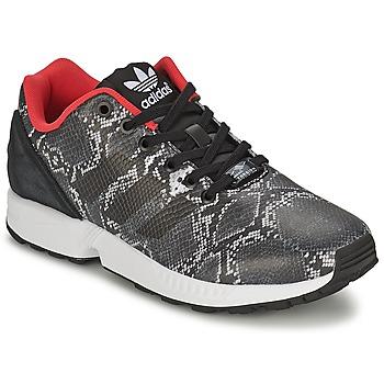 Sko Dame Lave sneakers adidas Originals ZX FLUX W Grå