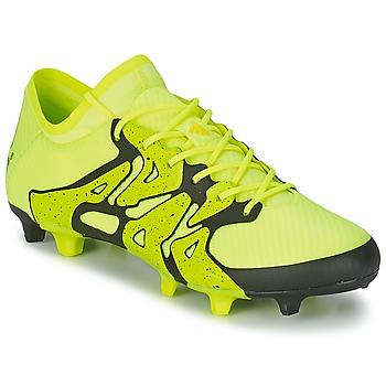 Sko Herre Fodboldstøvler adidas Performance X 15.1 FG/AG Gul