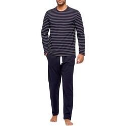 textil Herre Pyjamas / Natskjorte Impetus GO61024 039 Blå