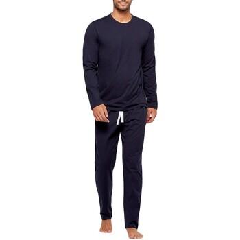 textil Herre Pyjamas / Natskjorte Impetus GO60024 039 Blå