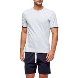 textil Herre Pyjamas / Natskjorte Impetus GO64024 073 Grå