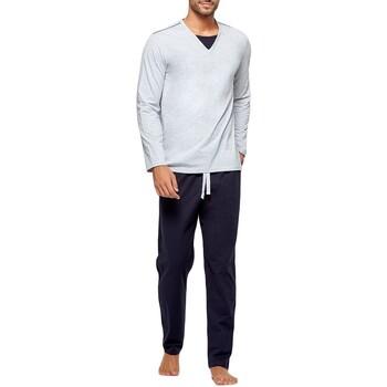 textil Herre Pyjamas / Natskjorte Impetus GO62024 073 Grå