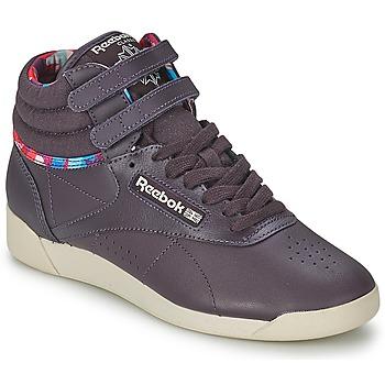 Sko Dame Høje sneakers Reebok Classic F/S HI GEO GRAPHICS Violet