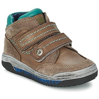 Sko Pige Høje sneakers Acebo's ACERA Muldvarpegrå