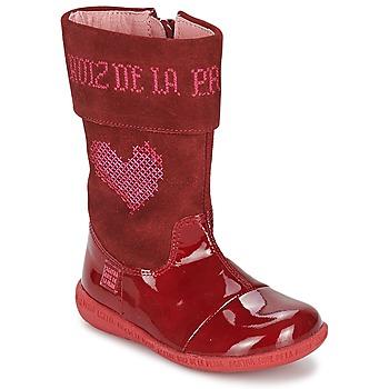 Sko Pige Chikke støvler Agatha Ruiz de la Prada DAFNE Rød