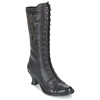 Sko Dame Chikke støvler Neosens ROCOCO Sort