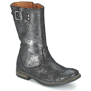 Sko Pige Chikke støvler Shwik WACO BOTTE Sort