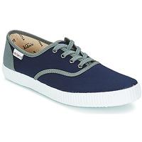 Sko Lave sneakers Victoria INGLESA LONA DETALL CONTRAS Marineblå