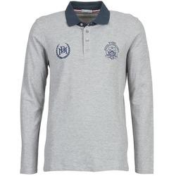 textil Herre Polo-t-shirts m. lange ærmer Best Mountain TAGOUSTI Grå