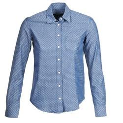 textil Dame Skjorter / Skjortebluser Gant EXUNIDE Blå