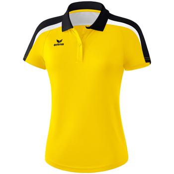 textil Dame Polo-t-shirts m. korte ærmer Erima Polo femme  Liga 2.0 jaune/noir/blanc