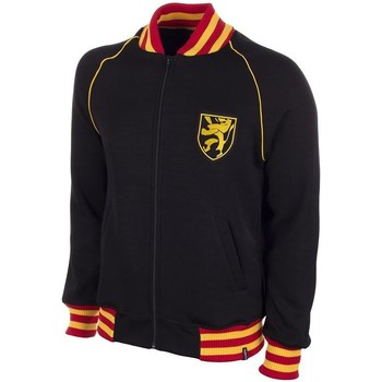 textil Herre Sweatshirts Copa Football Sweat zippé Belgique 1960's noir/jaune/rouge
