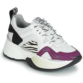 Sko Dame Lave sneakers Meline ARGAGALI Hvid / Sort
