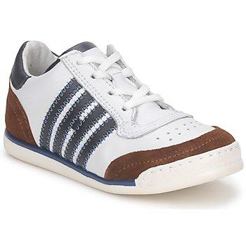 Sko Børn Lave sneakers Hip ARCHIK Hvid / Brun