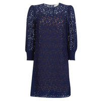textil Dame Korte kjoler MICHAEL Michael Kors BLOUSON SLV LACE DRS Marineblå