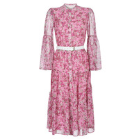 textil Dame Lange kjoler MICHAEL Michael Kors ENCHANTED BLOOM DRESS Pink