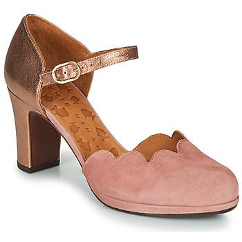 Sko Dame Højhælede sko Chie Mihara SELA Pink