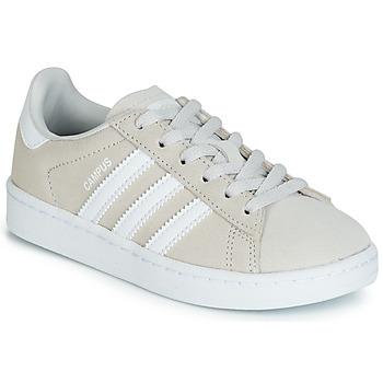 Sko Børn Lave sneakers adidas Originals CAMPUS C Grå