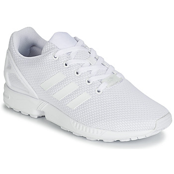 Sko Børn Lave sneakers adidas Originals ZX FLUX J Hvid