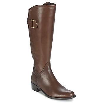 Sko Dame Chikke støvler Moda In Pelle SANTOSA Gylden