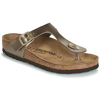 Sko Dame Flip flops Birkenstock GIZEH Bronze