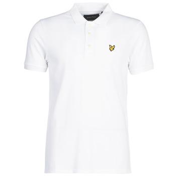 textil Herre Polo-t-shirts m. korte ærmer Lyle & Scott FAFARLIPE Hvid