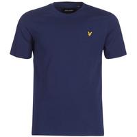 textil Herre T-shirts m. korte ærmer Lyle & Scott FAFARLIBE Marineblå