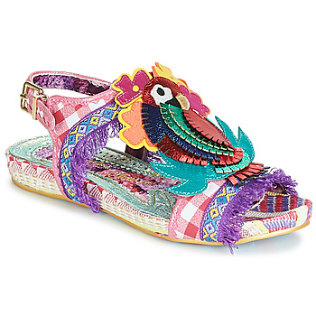 Sko Dame Sandaler Irregular Choice JOLI POLLY Pink