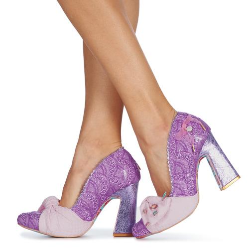 Irregular Choice TI AMO Violet - Gratis fragt- Sko pumps Dame 735,00