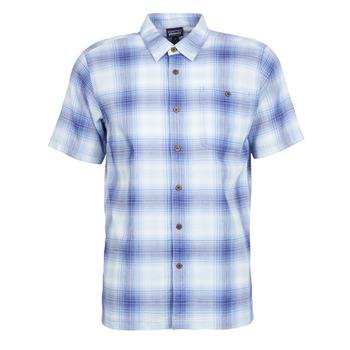 textil Herre Skjorter m. korte ærmer Patagonia A/C Shirt Blå