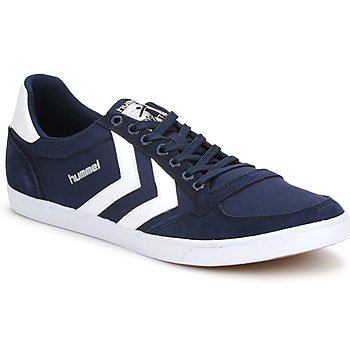 Sko Lave sneakers Hummel TEN STAR LOW CANVAS Marineblå