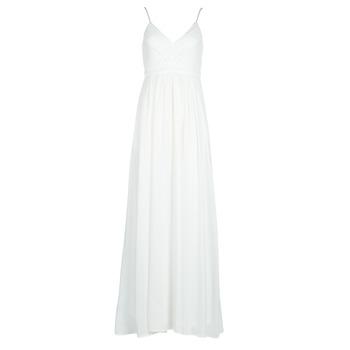 textil Dame Lange kjoler Betty London VICTOIRE Hvid